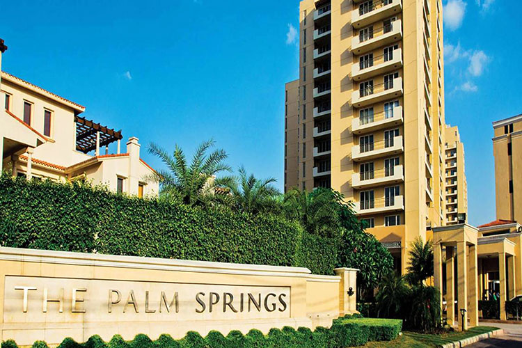 4 BHK Apartment in Emaar the Palm Springs